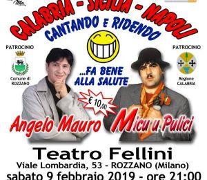 Micu u Pulici a Rozzano Teatro Fellini
